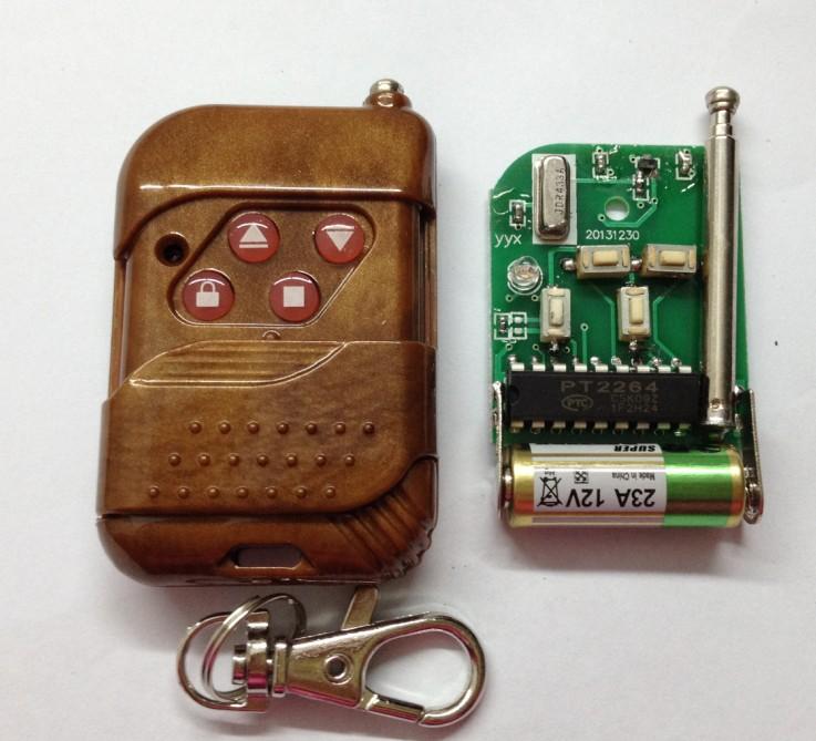 2,内部电路板背面清晰图片 h2264焊码遥控简易使用说明 此遥控器板上
